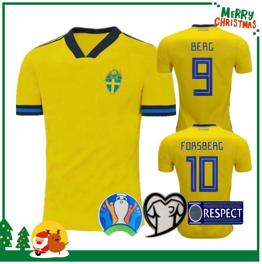 İsveç 2019 2020 Milli futbol formaları dünya kupası IBRAHIMOVIC Källström Forsberg forması futbol futbol forması camisetas