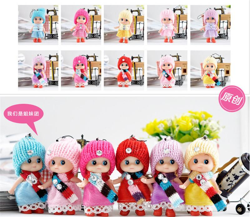 2020 new Kids Toys Dolls Soft Interactive Baby Dolls Toy Mini Doll For Girls free shipping K197