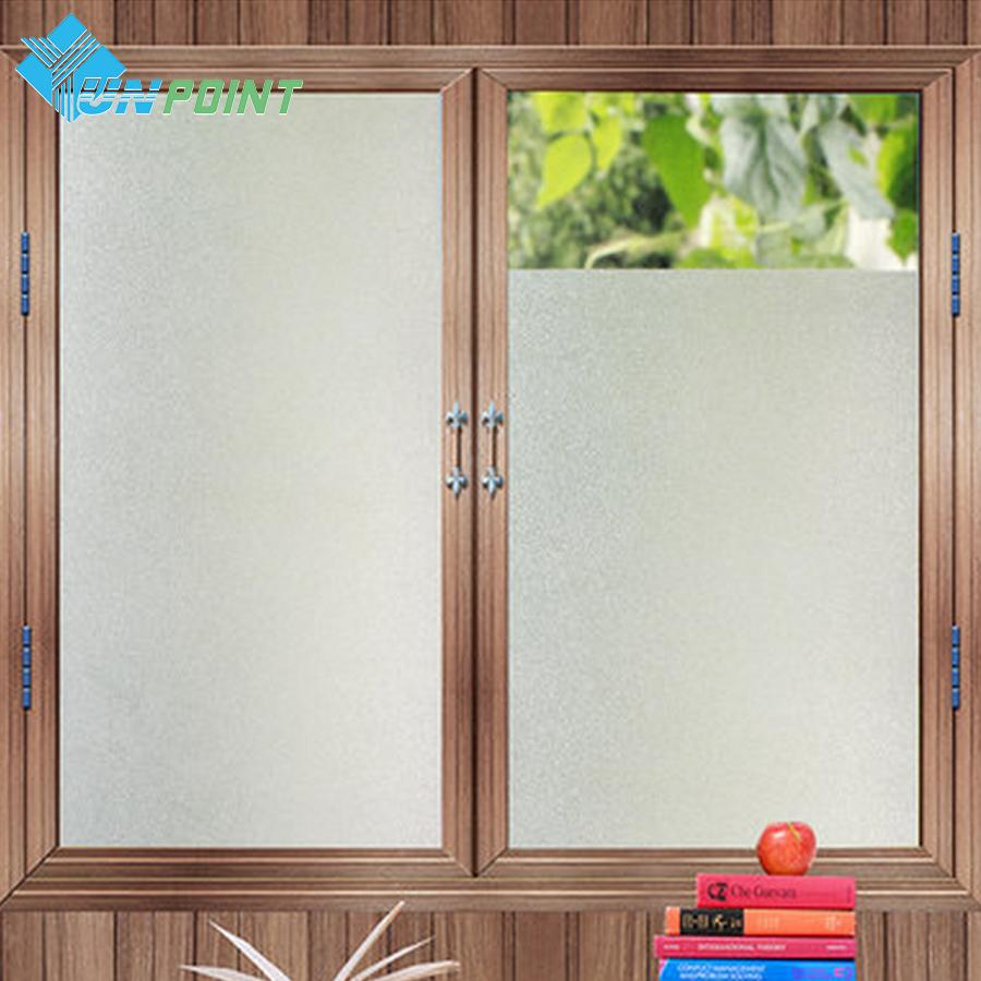 decorative film for bathroom windows self adhesive frosted window glass wallpaper office bathroom  self adhesive frosted window glass