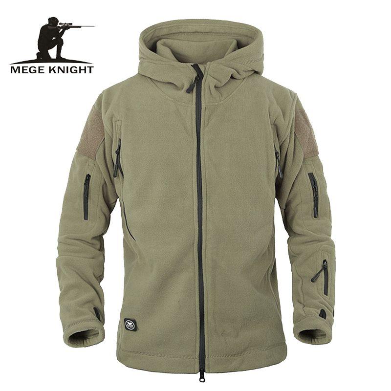 Inverno Jacket Tactical Uniforme Militar Soft Shell velo Hoody Jacket Men Roupa térmica HoodiesMX191012 Casual