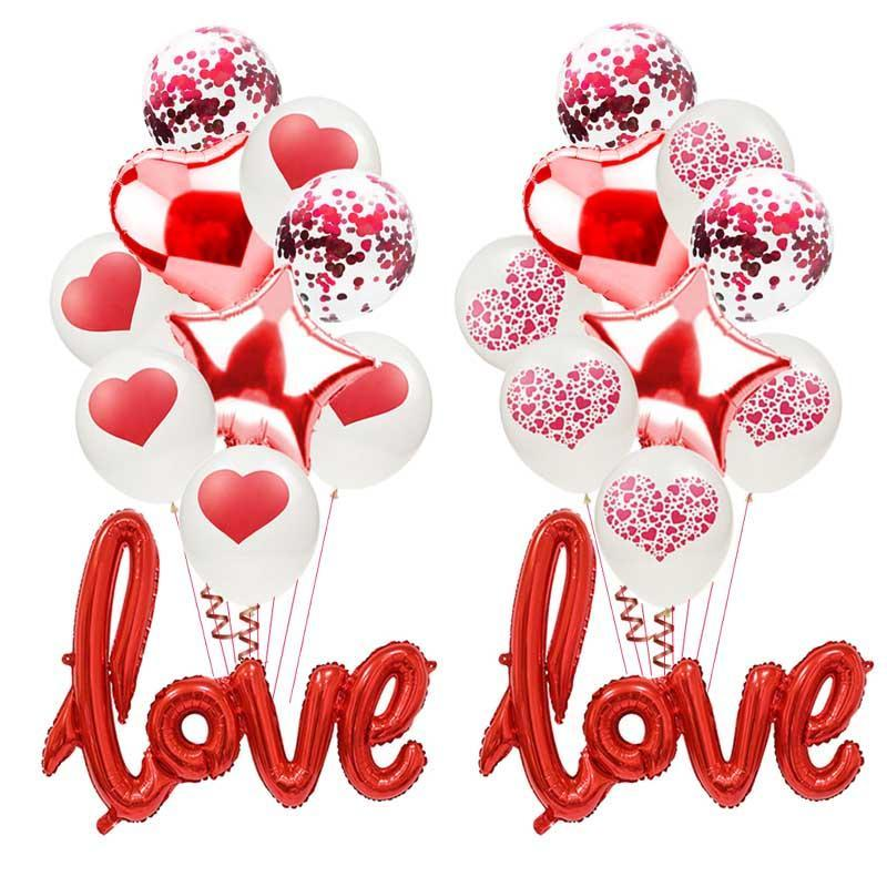 I Love You Letter Foil Balloon Anniversary Wedding Valentines  Party Best  UK