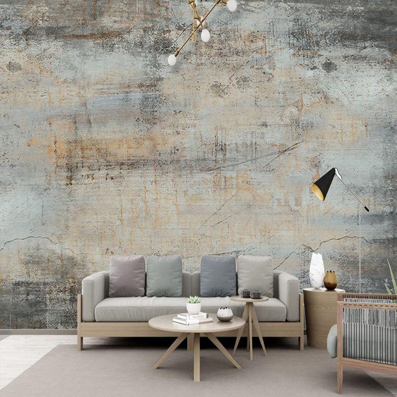 Encargo cualquier tamaño mural del papel pintado 3D retro cemento fresco de la pared del café del restaurante de fondo decoración de la pared Papel de parede 3 D Fondos