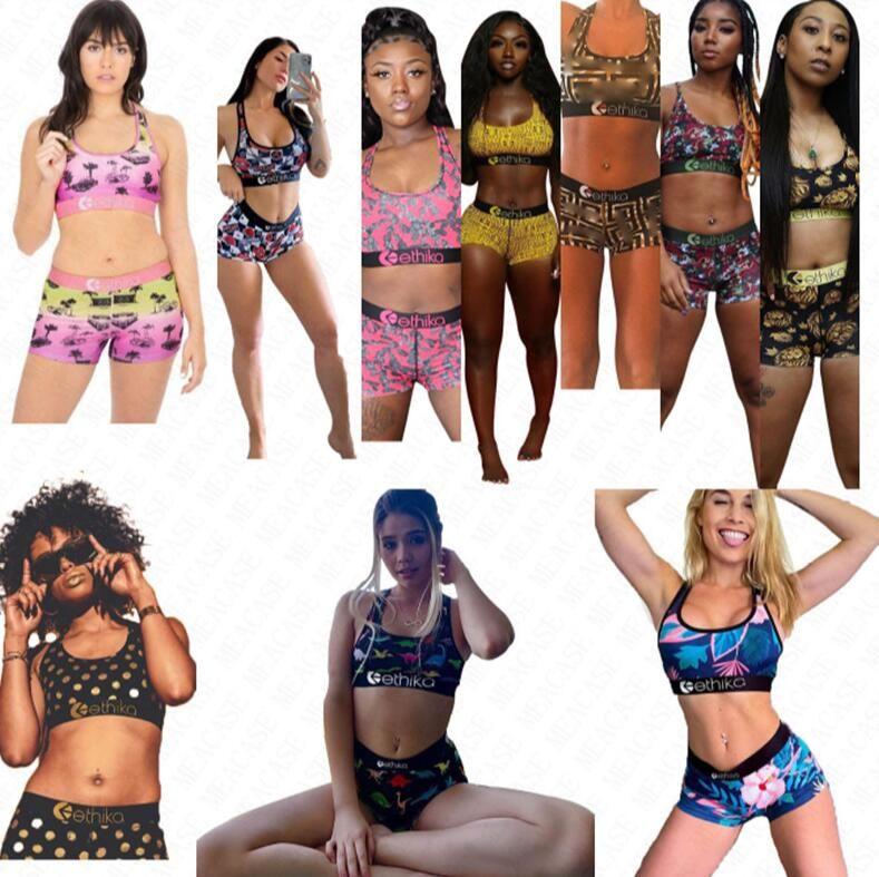 مصمم قطعتين ملابس السباحة النساء المايوه مثير حمالات الصدر تانك الأعلى والسراويل جذوع الفتيات ملابس السباحة Tankini المايوه دعوى D63002