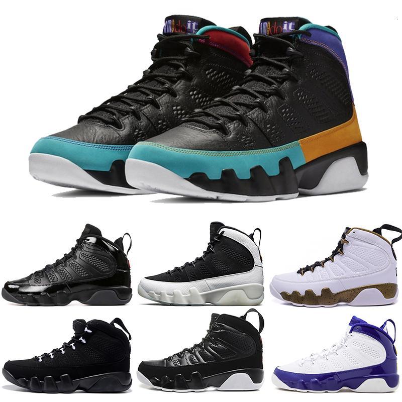 New Designer 9s basquete sapatos para homens Moda Sneaker Run 9 Ix Sonhe-fazê-lo Sapatilhas instrutor Og Space Jam Sports Shoes