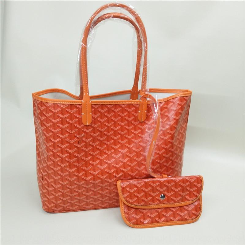 compras de moda mãe-filho PU ombro único saco de Mulheres Super fogo ins Goya sacola de compras portátil