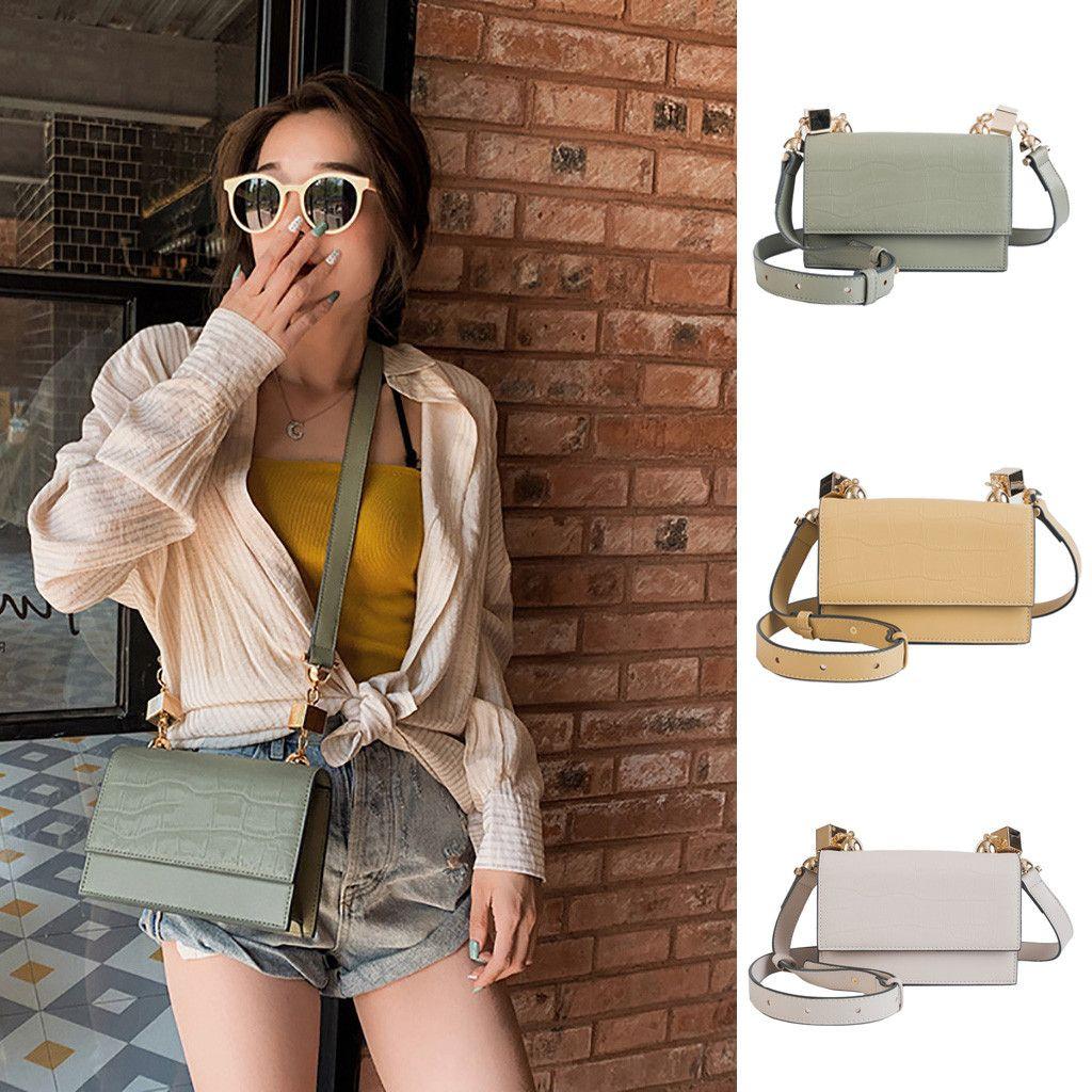 New Umhängetasche Tasche Mode-Sommer-Frauen eleganter Druck einzelner Schulter-Zipper Fashion Street Schießen wilde Feste Messenger Bags