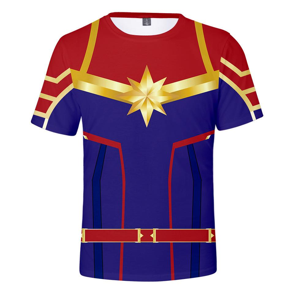 New Be Surprised Captain Carol A. Dan Forth Trend Short Sleeve