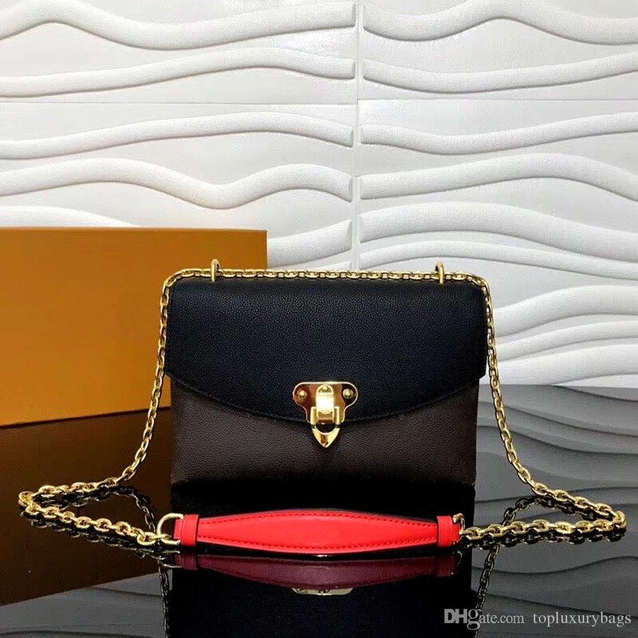 Fashion Hot Sale Designer Weiseluxuxfrauen Schultertaschen Umhängetasche Handtaschen Hochwertiges Leder-Monogramm-Segeltuch-beiläufige wilde fünf Farben