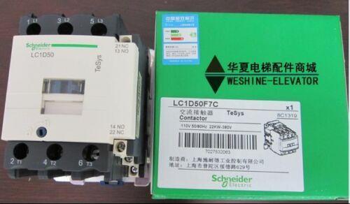 LC1D50F7C شنايدر TELEMECANIQUE المقاولين الجديد في مربع الشحن مجانا