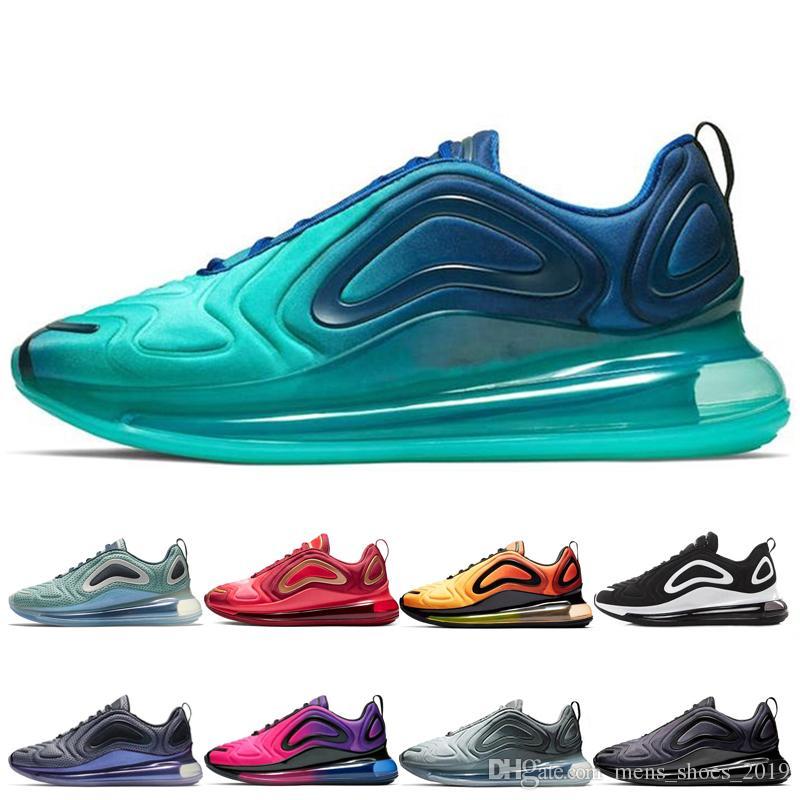 air max airmax 720 shoes Мужчины морской кроссовки топ женщины углеродисто-серый пустынный северное сияние день ночь черный красный спортивная обувь дизайнер кроссовки кроссовки