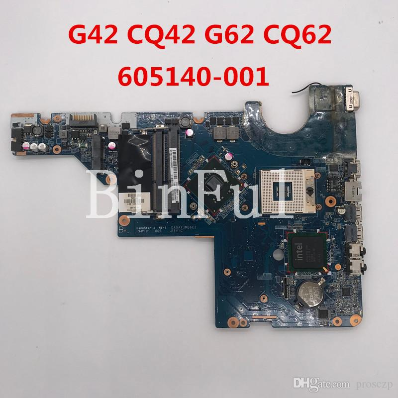 High quality For G42 CQ42 G62 CQ62 Laptop Motherboard 605140-001 605140-501 605140-601 DA0AX3MB6C2 GM45 100% full Tested