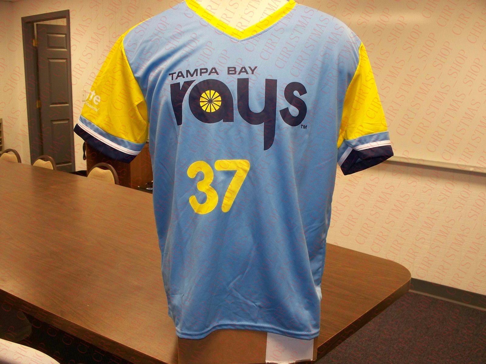 100% do bordado # 37 Alex Colome Game Day Jersey costurado Personalizar qualquer número nome MEN Jerseyss NCAA JERSEY