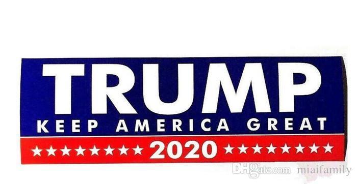 10Pcs Donald Trump Keep America Great Car Bumper Stickers President 2020 Hot