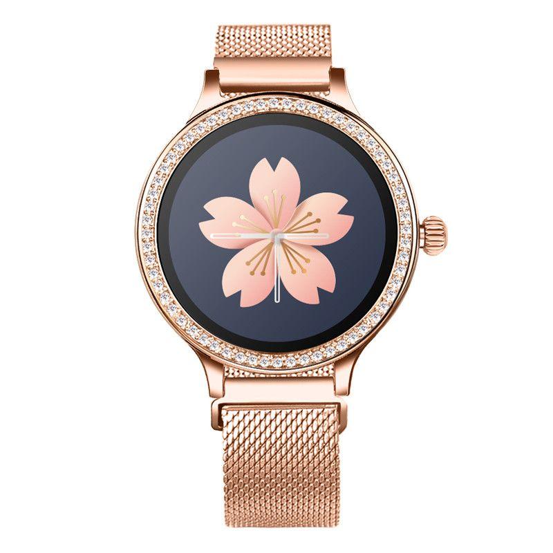 M8 الذكية ووتش الأزياء اللياقة تعقب معدل ضربات القلب رصد معدل smartwatch النساء لالروبوت ios الهاتف PK Q8 KW18