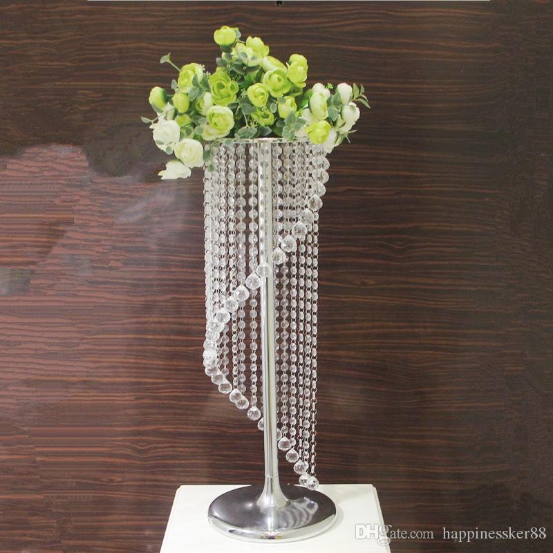 Rotating acrylic crystal wedding road lead wedding centerpiece event wedding decoration/ event party decoration for table