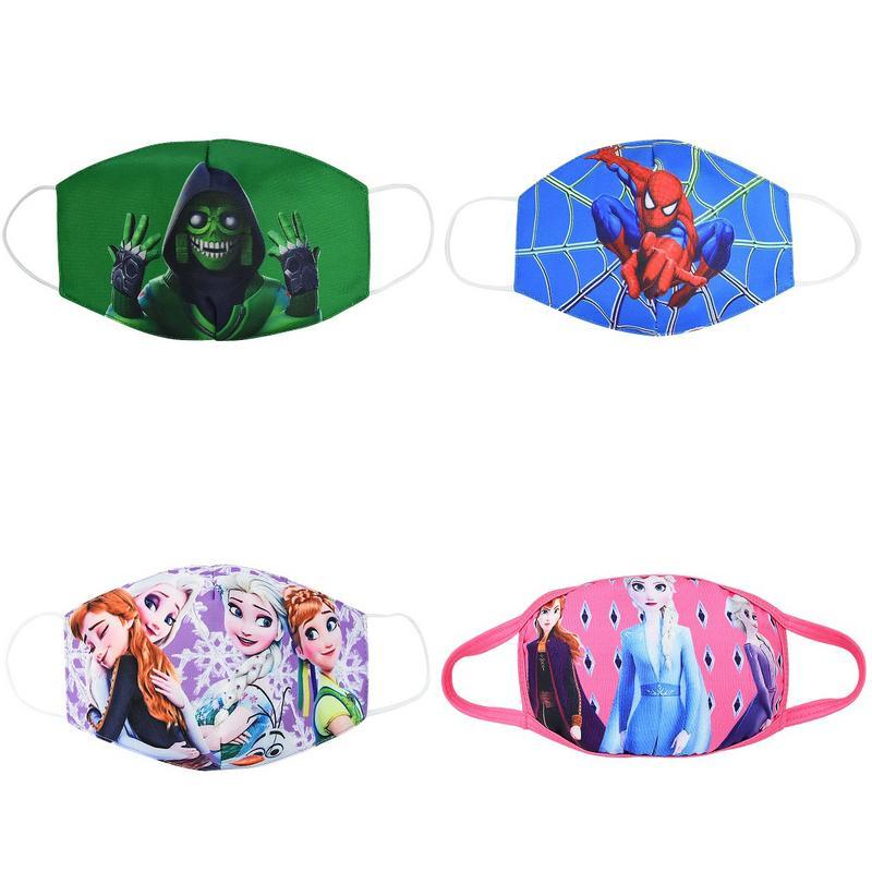 Las mascarillas de tela de algodón niños de buceo mascarilla boca máscara de dibujos animados infantiles juveniles máscaras de niño pamuk maske bwkf kxICU