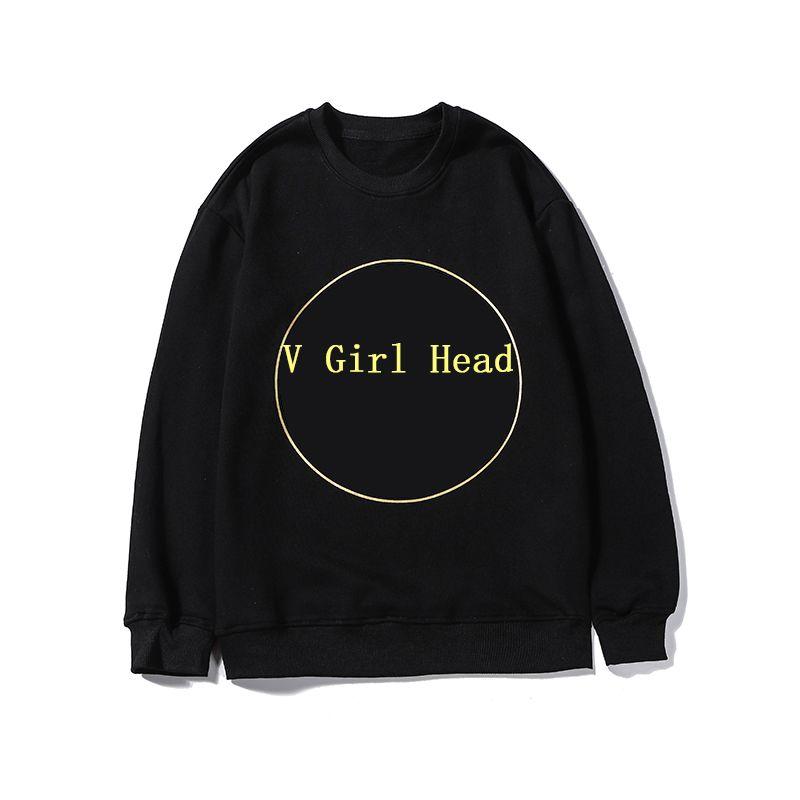 디자이너 남성 브랜드 까마귀 럭셔리 농구 입고 브랜드 간단한 소녀 머리 패턴 문자 플랫폼 뜨거운 크기 M 2XL 2 색