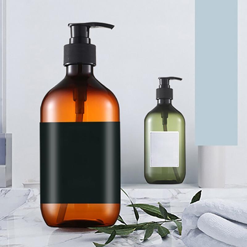 Grande Capacidade Shampoo Shower Gel garrafa espessamento Imprensa Garrafa Condicionador 300ml / 500ml