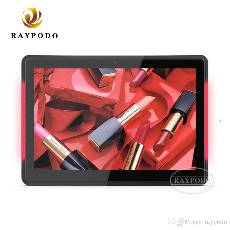Raypodo 10.1 inch android 8.1 tablet ethernet POE with VESA wall mount