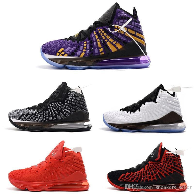 جديد ليبرون 17 أحذية الأطفال كرة السلة عالية الجودة للبيع جيمس 17 المدربين احذية رياضية مع صندوق حجم 5-7