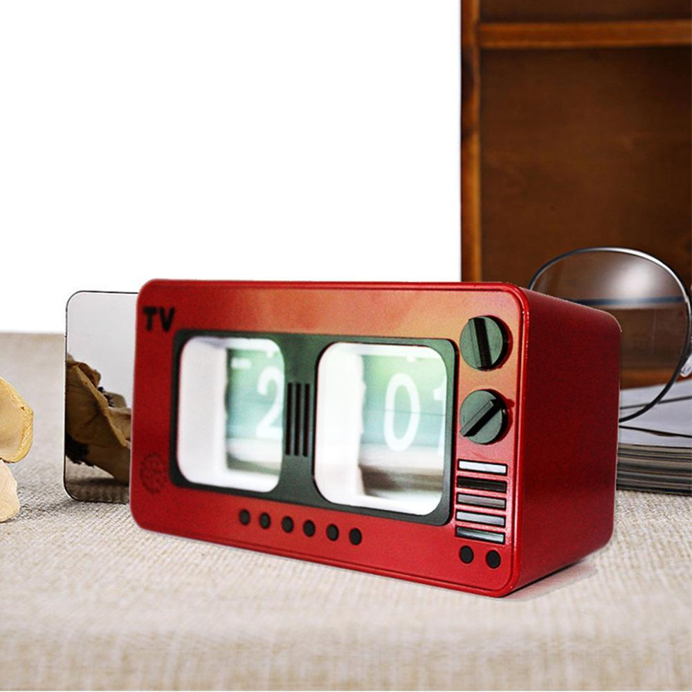 34 Retro Nostalgic TV Flip Clocks Stylish Creative Home And Office Desk  Clocks Automatic Flip Red Table From Aozhouqie, $34.34  DHgate.Com