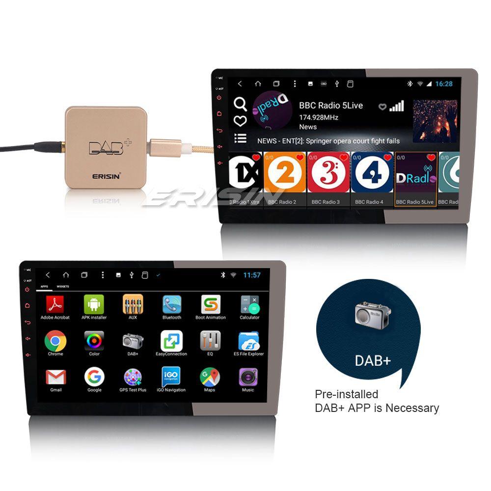 Amplified External DAB Digital Radio Box for Car Radio Android 7.1//8.0//8.1//9.0