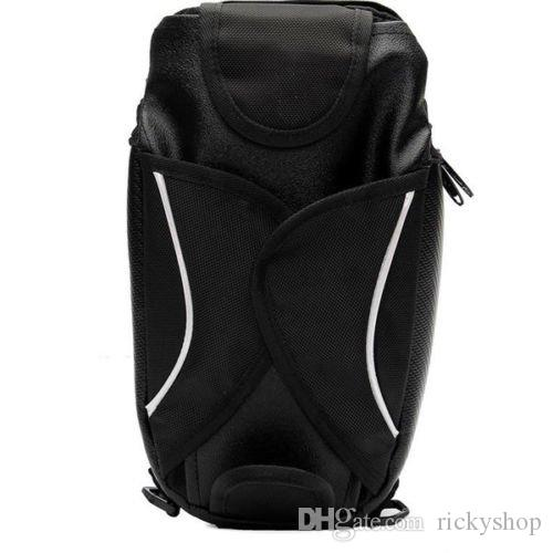 35cm*18cm Nylon Black Motorcycle Oil Fuel Tank Waterproof Shoulder Sling Bag