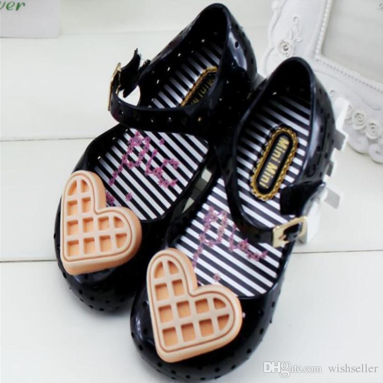 Sandales Enfant en Plastique Noir