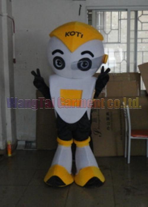 Neues Roboter-Maskottchen-Kostüm Erstklassig deluxe Zeichentrickfigur Kostüme Roboter Maskottchen Klage Abendkleid Partei Karneval-freies Verschiffen