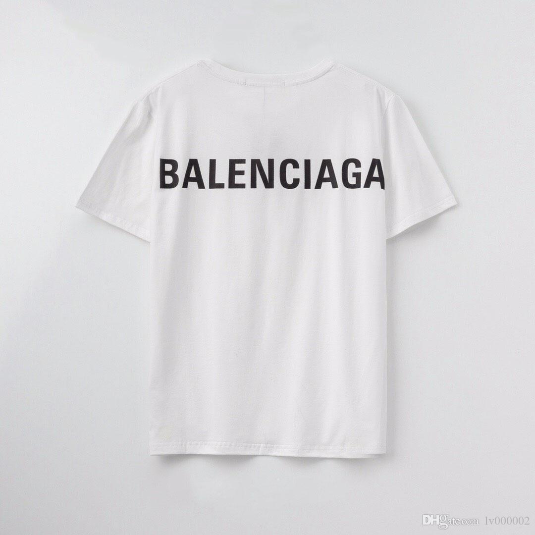 20ss designer de Paris T-shirt do fã dos homens senhoras verão T-shirt ocasional alfabeto algodão de moda de manga curta T-shirt Medusa