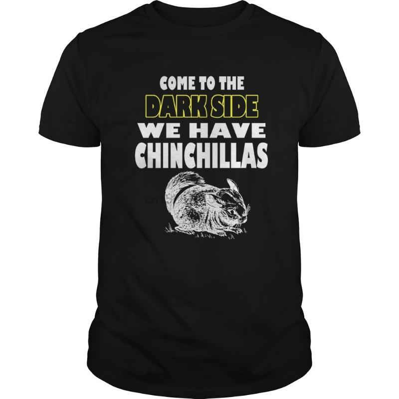 Hombres camiseta Chinchilla T-shirt Idea regalo Chinchilla mamá papá camiseta fresca camiseta impresa de tes superior
