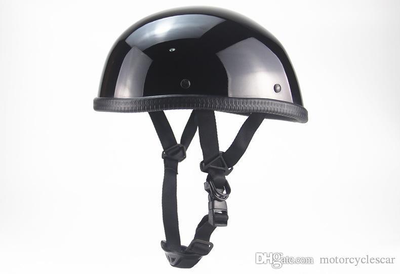 Meistgekaufte Retro Style Harley Motorrad-Sturzhelm Sunscreen Half Face elektrischen Motorrad-Sturzhelm-Unisex-Größe S / M / L / XL; XXL