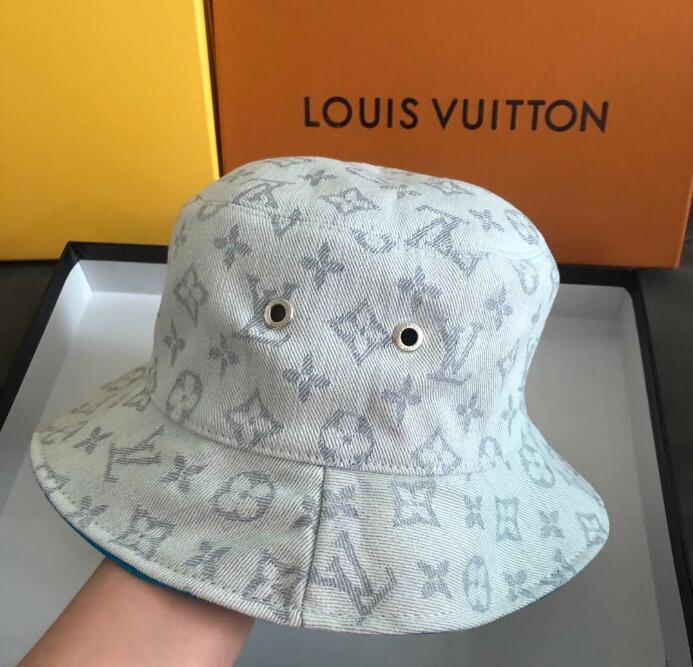 Frühjahr / Sommer 2020 Fashion Mehrzweckbriefdruck Wannenhut Fischer Hut im Freien Reise Sonnenhut Frauen, Männer Baseballmützen Großhandel A18