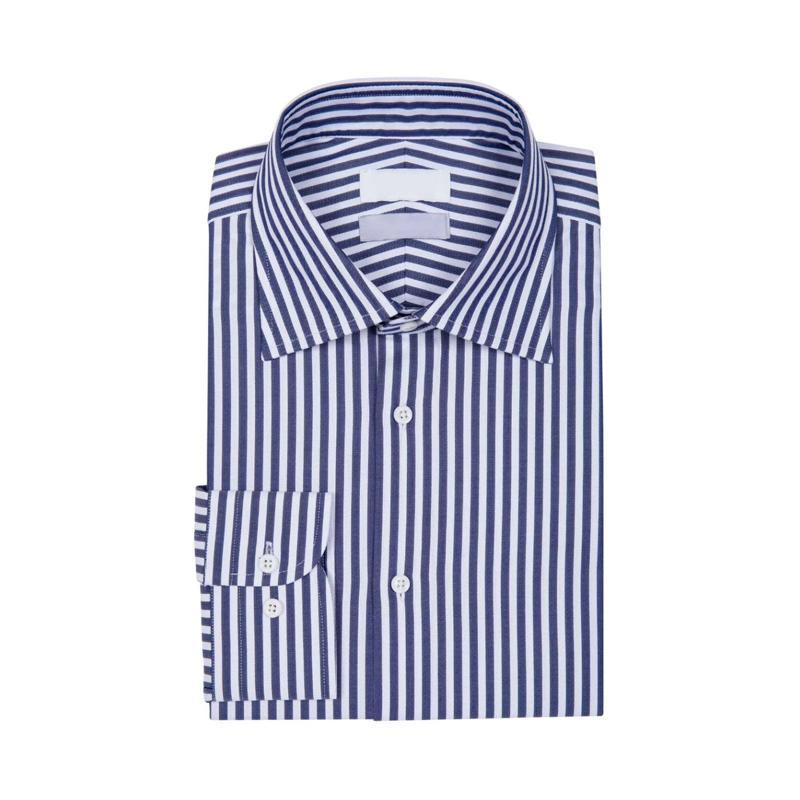 Shenrun hommes chemise sur mesure 100% coton à manches longues sur mesure pour les hommes de mariage Party de bureau d'affaires Masculin Travail sur mesure Chemises
