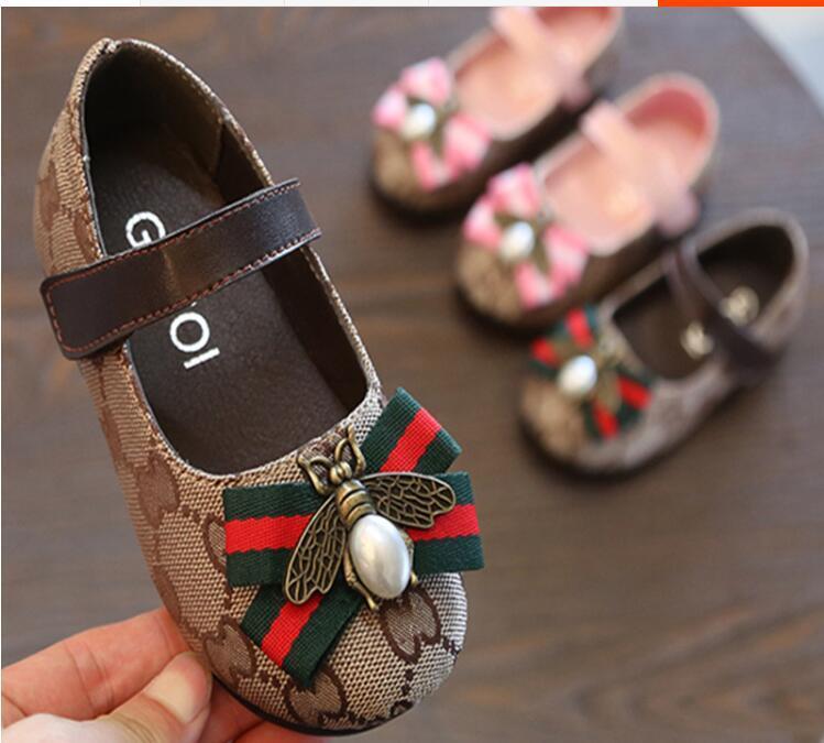single zapatos zapatos de la princesa en la primavera de 2020 de moda y versátiles de los niños versión coreana zapatos de cuero pequeño bebé hijos de las chicas nuevas