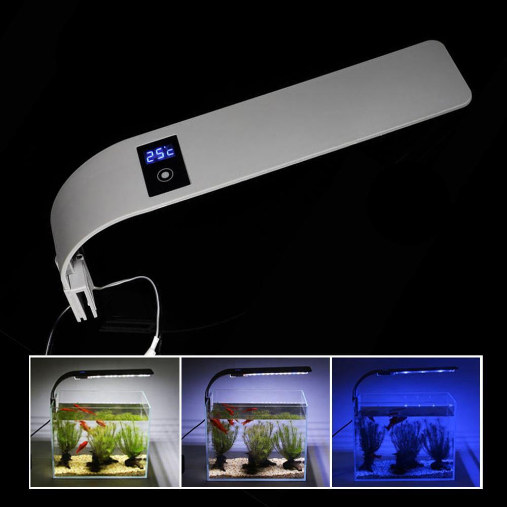 Aquariums Освещение рыбы Бак-лампы Лампы Водный завод 10 Вт / 15 Вт Аквариум LED Водонепроницаемый клип для X9 / X7 / X5 / X3