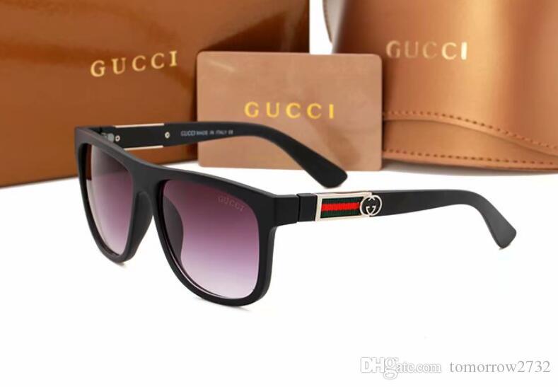 Kostenloser versand Mode Klassische Sonnenbrille Männer Sonnenbrille Brillen Frauen Spiegel heißer Verkauf mit box