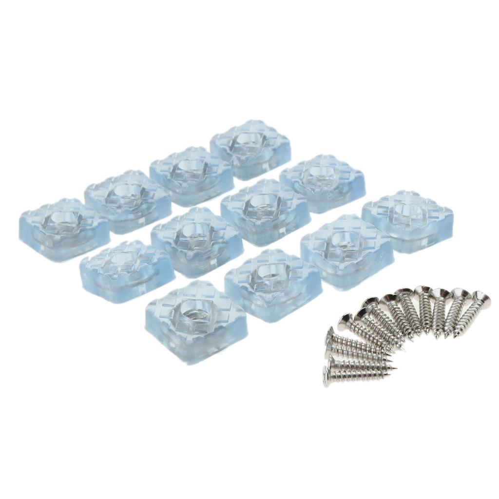 12Pack meubles clairs Pads, pieds Meubles Glide Sliders Tapis SAVER Chaise Table Sofa Couch Caps jambe