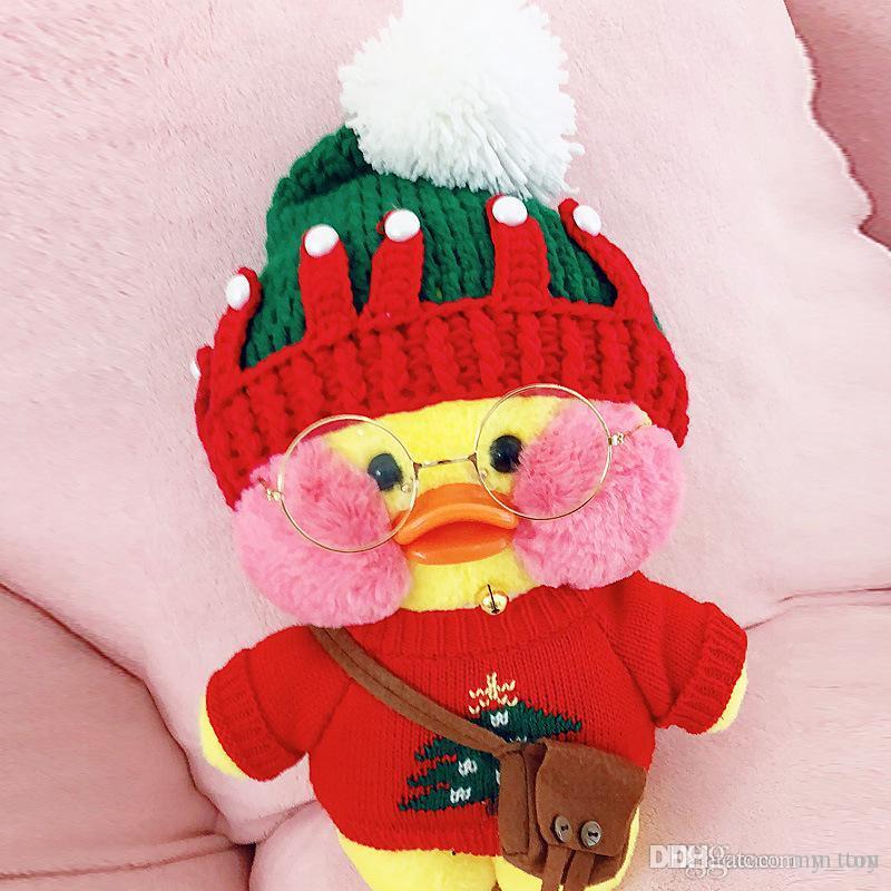 Kawaii Plush Duck Toy Cute Animal Yellow Duck Soft Hair Doll Toy Christmas Birthday Gift Children Girl Decoration