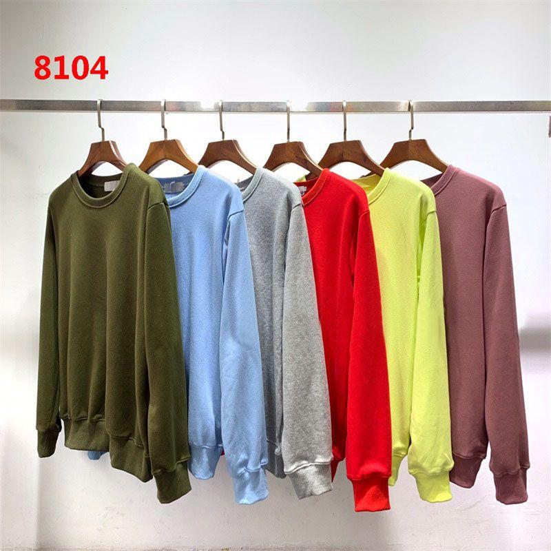 Dropship con capucha para hombre Desiger camiseta de las mujeres la pareja Otoño Invierno Hombres camiseta de manga larga 108 Hip Hop Sudaderas Suéteres S-2XL 8104