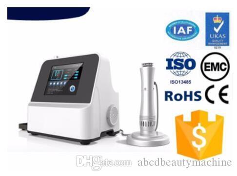 En iyi etki Ağrı kesici cihaz şok dalga tedavisi dışı şok tıbbi ekipman pnömatik şok dalga tedavi makinesi dalga