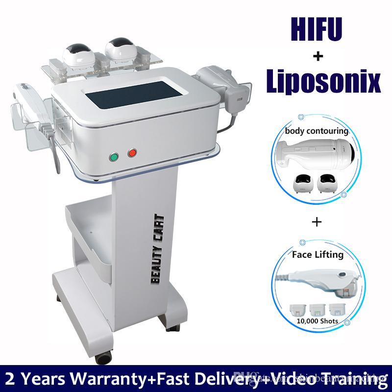 Corps amincissant la réduction de graisse de levage de visage de machine HIFU de liposonix de réduction 2 dans 1 peau de HIFU Liposonix resserrant la perte de poids de corps