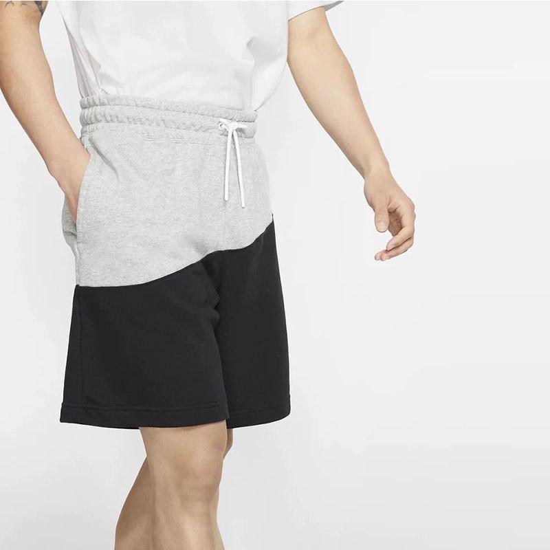 Herren Designer Shorts 2020 Art und Weise neuer Sommermens Aktive lose Patchwork kurze Hosen Marke Men Casual Kordelzug Shorts 2 Styles Größe M-4XL