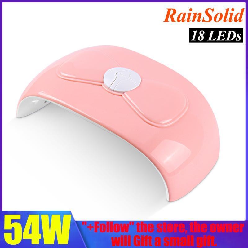 NEUER 54W LED Nagel-Lampe UV-Lampe für Maniküre 18 PC Licht Bead schneller Aushärtung UV Gel-Nagellack mit Motion Sensing-LCD-Display