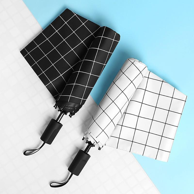 Double Layer UV Protect Umbrella Windproof Rain Three-folding Umbrella Sunny and Rainy Umbrella Parasol Paraguas Anti UV30