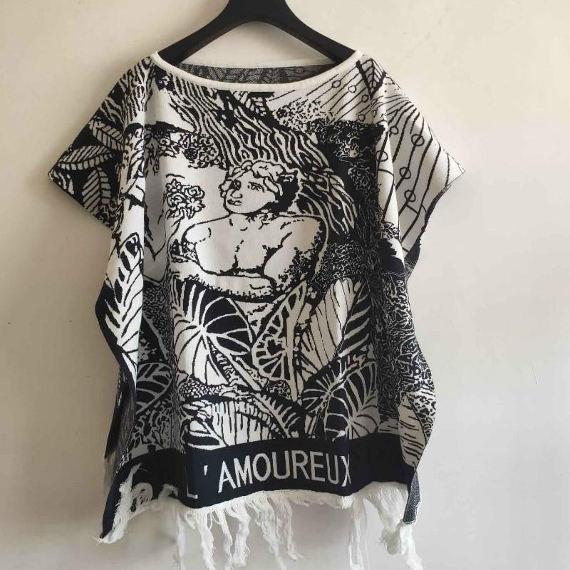 Femmes Marque Fashion Tendance Pull Imprimer Art Vintage Style haute qualité Collège Casual Sweater 2020 Nouveau Top qualité pour gros