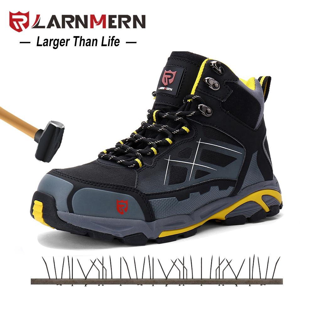 Mens Work Boots Steel Toe Safety Shoes