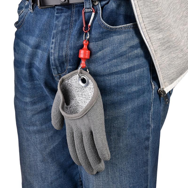 Ловля перчатки fashion-Противоскользящие водонепроницаемый PE Нейлон перчатки Рыбалка Anti-вырезать Укус перчатки Anti-колоть Рыбалка Инструменты Accessorie