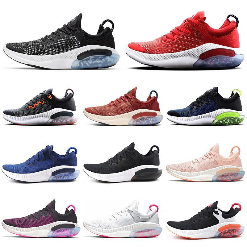 With socks Outdoor Joyride Run FK Knit Men Women Running shoes Purple Pink Platinum Tint Racer Mens Trainer Athletic Sport Sneaker US5.5-11