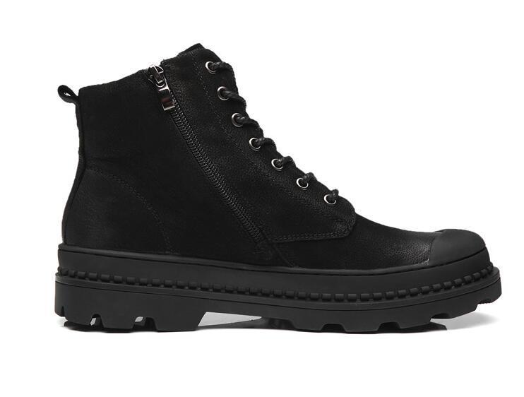 Vendita calda- Nuovi stivali militari britannici da uomo autunnali Moda casual da lavoro Sicurezza Scarpe da uomo Scarpe primaverili Stivali da uomo A186